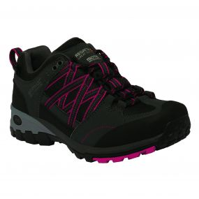 Women's Samaris Low Hiking Shoes Briar Dark Cerise