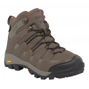 Women's Burrell Hiking Boots Walnut Deco Rose