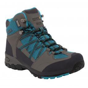 Women's Samaris Mid Hiking Boots Enamel Charcoal
