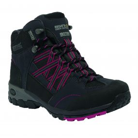 Women's Samaris Mid Hiking Boots Briar Dark Cerise