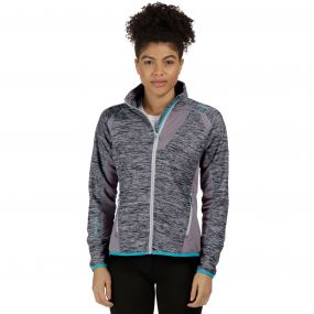 Catley II Hybrid Stretch Wind Resistant Softshell Jacket Light Steel Rock Grey Marl