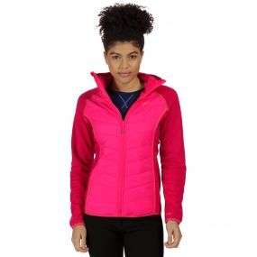 Women's Andreson II Hybrid Insulated Jacket Dark Cerise Bright Blush