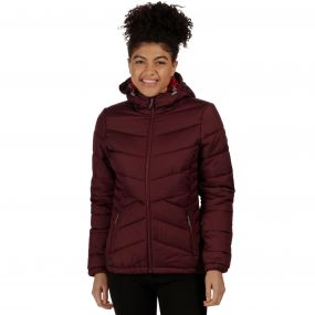 Women's Nevado Super Heavyweight Insulated Hooded Jacket Fig