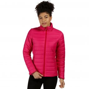 Women's Icebound II Mid Weight Insulated Jacket Dark Cerise