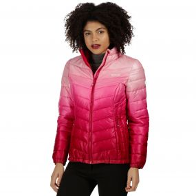 Women's Azuma Atomlight Heavyweight Insulated Hooded Dark Cerise