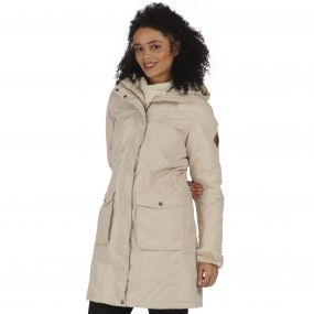 Roanstar II Waterproof Insulated Parka Jacket Warm Beige