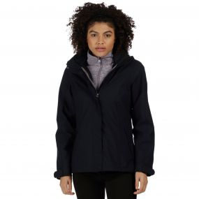 Calyn Stretch Breathable Waterproof 3-in-1 Jacket Black Dust