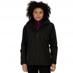 Premilla Waterproof 3-in-1 Jacket Black Fig