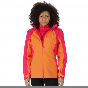 Carletta II Waterproof 3-in-1 Jacket Persimmon