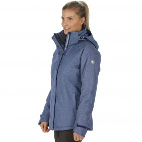 Women's Highside II Breathable Waterproof and Textured Insulated Jacket Twilight Blue