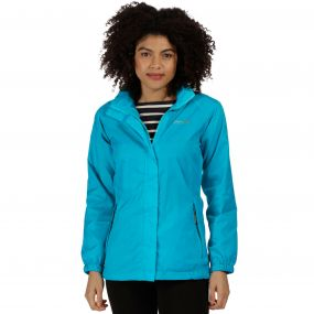 Joelle IV Lightweight Waterproof Jacket Aqua