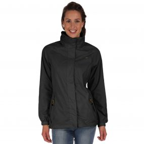 Joelle IV Lightweight Breathable Waterproof Jacket Black