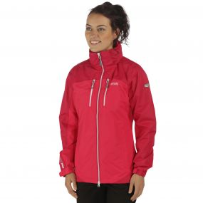 Women's Calderdale II Breathable Waterproof Shell Jacket Duchess Dark Cerise