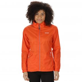 Corinne III Lightweight Waterproof Jacket Pumpkin