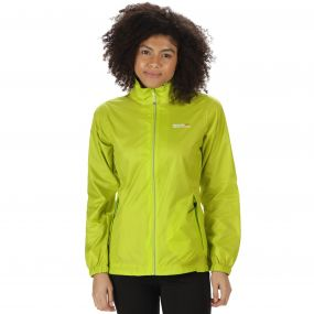 Corinne III Lightweigh Waterproof Jacket Lime Zest
