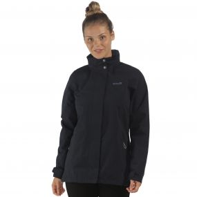 Daysha Waterproof Shell Jacket Navy