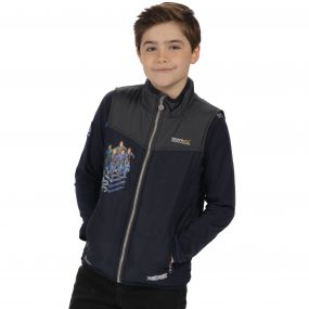 Thunderbirds Are Go Kids Earthbreaker Lightweight Gilet Navy