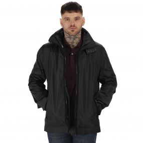 Originals Deansgate Waterproof 3-in-1 Jacket Black
