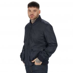 Originals Castlefield Bomber Jacket Navy