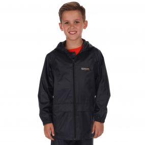 Kids Stormbreak Waterproof Shell Jacket Navy