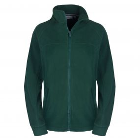 Expert Basecamp Full Zip Microfleece Dark Green