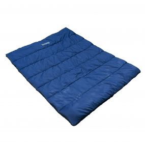 Maui Polyester Lined Double Sleeping Bag Navy