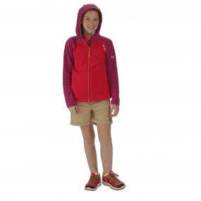 Kids Upflow Lightweight Hooded Fleece Duchess Vivid Viola