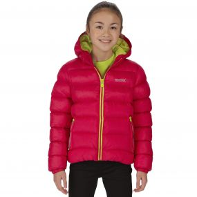 Kids Lofthouse Super Heavyweight Insulated Jacket Dark Cerise
