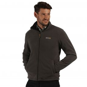 Fairview Mid Weight Full Zip Fleece Seal Grey