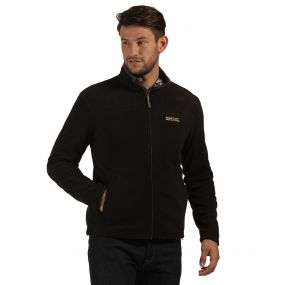 Fairview Mid Weight Full Zip Fleece Black