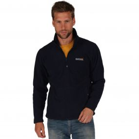 Hedman II Heavyweight Full Zip Fleece Navy