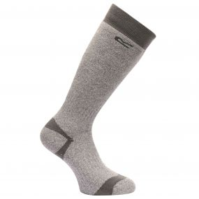 Men's Wellington Socks Seal Grey
