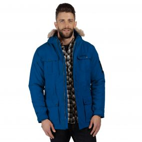 Saltoro Breathable Waterproof Insulated Parka Jacket Prussian Blue