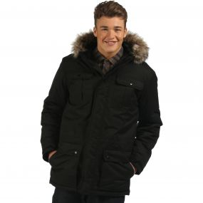 Saltoro Breathable Waterproof Insulated Parka Jacket Black