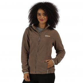 Floreo II Mid Weight Full Zip Fleece Coconut