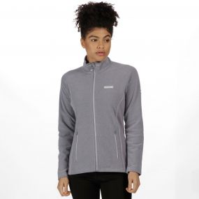 Women's Tafton Full Zip Stretch Honeycomb Fleece Rock Grey
