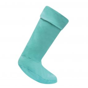 Women's Fleece Wellington Liner Socks Ceramic
