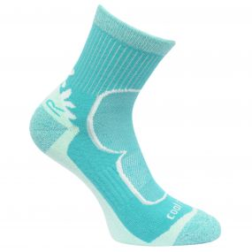 Women's 2 Pack Active Socks Toffee-Ceramic