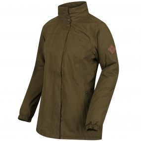 Myrtle II Waterproof Insulated Jacket Camo Green