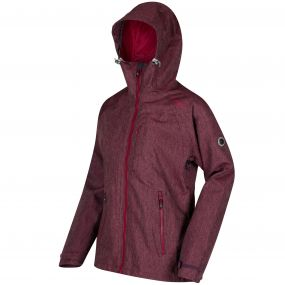 Louisiana III Breathable Waterproof 3-in-1 Stretch Jacket Fig Lollipop