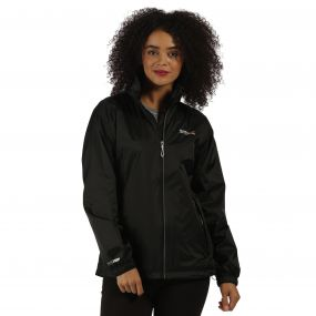 Corinne III Lightweight Waterproof Jacket Black