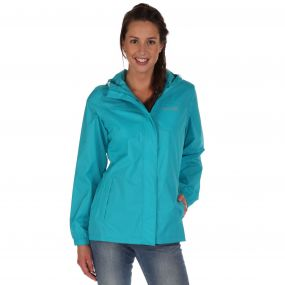 Women's Pack-It Jacket II Waterproof Packaway Aqua