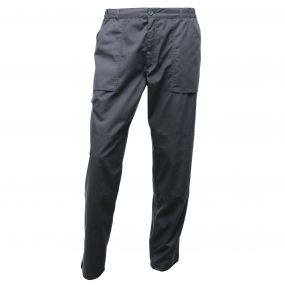 Mens Action Trousers Dark Grey