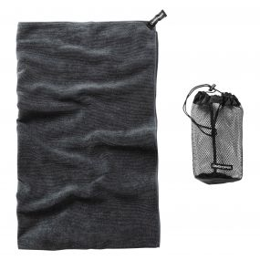 Extra Large Microfibre Travel Towel Charcoal