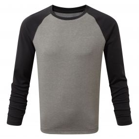 NosiLife Barnaby Long-Sleeved Tee Soft Grey Marl