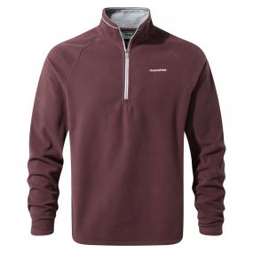 Selby Half-Zip Fleece Red Wine
