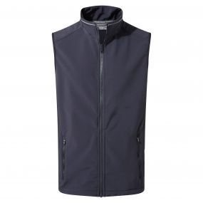Expert Essential Interactive Softshell Vest Dark Navy
