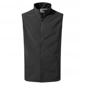 Expert Essential Interactive Softshell Vest Black