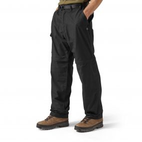 Kiwi Convertible Trousers Black