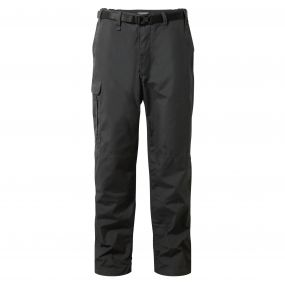 Kiwi Winter-Lined Trousers Black Pepper